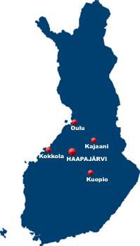 Kartat Haapajarven Kaupunki